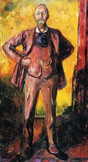 Портрет профессора Якобсона, который был лечащим врачом Э. Мунка