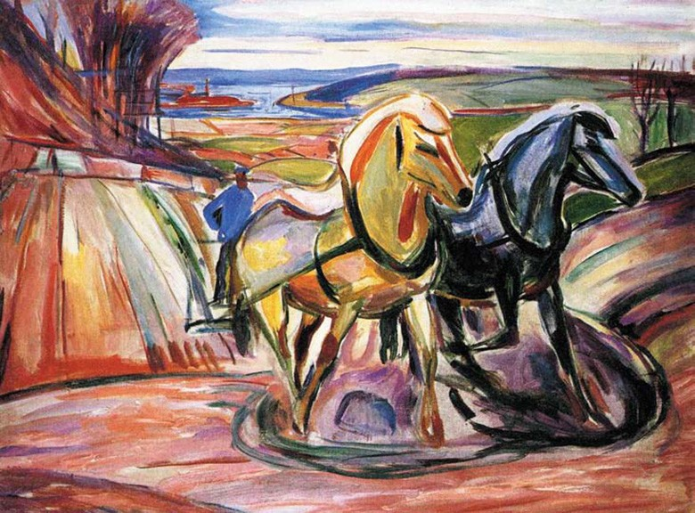 «Весенняя пахота», 1916