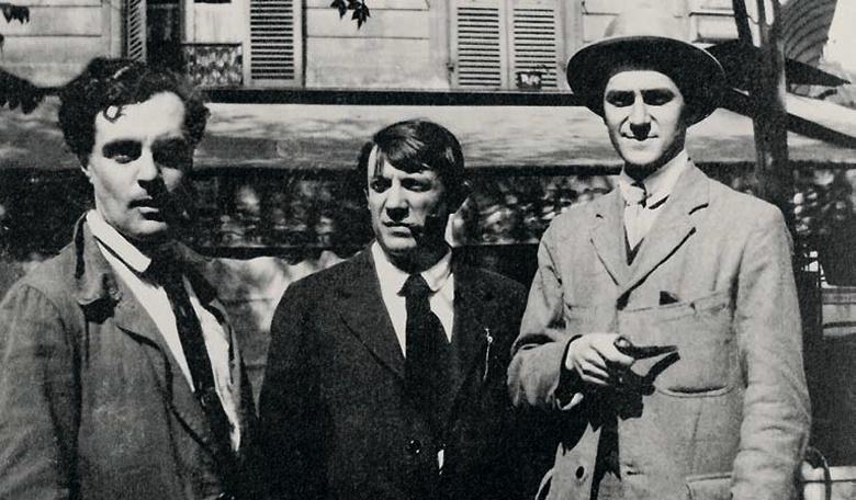 Модильяни Пикассо и Сальмон