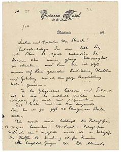 почерк Эдварда Мунка