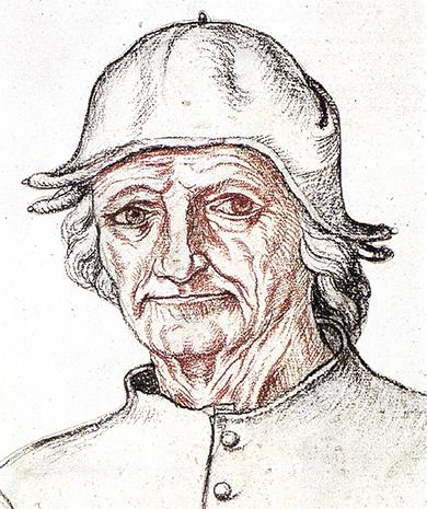 Портрет Иеронима Босха кисти современника