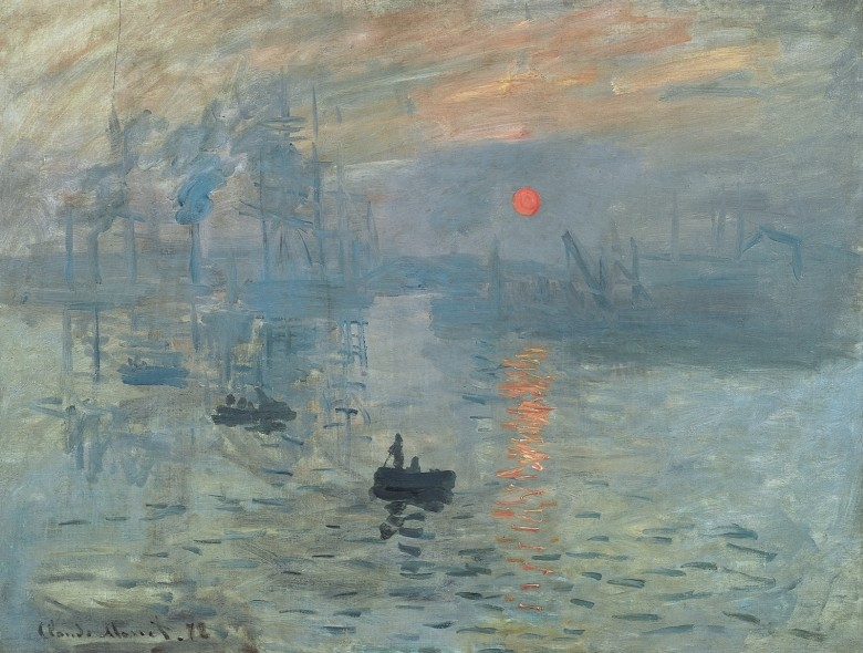 Клод Моне Впечатление. Восход солнца