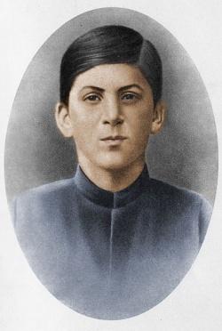 Сосо? Джугашвили — ученик Тифлисской духовной семинарии (1894)