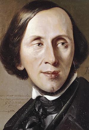 Ханс Кристиан Андерсен, 1846 г., автор – Август Граль