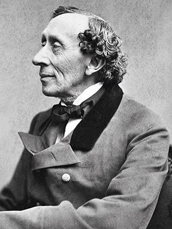Ханс Кристиан Андерсен, фотограф – Тора фон Галлагер, 1869 г.